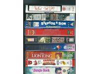 15 VHS Videos / Soccer / Rock Music / Disney etc