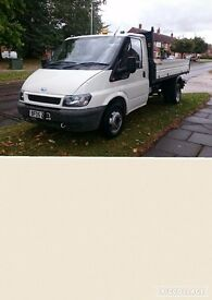 FORD TRANSIT 90 350 TIPPER 1 OWNER 74143 MILES YEARS MOT