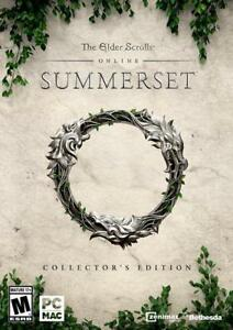 NEW The Elder Scrolls Online: Summerset Collector's Edition PC