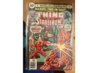 Vintage comics and collection
