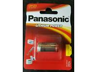 Panasonic lithium cr123 batteries