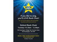 Sing with Rock Choir