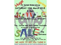 1st Kirton Spring Jumble Sale