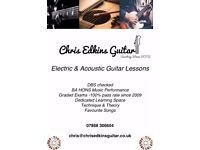 Chris Edkins Guitar Tuition - (BA HONS) - Professional Guitar Tuition @ Excellent Rates