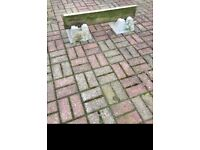Concrete decking blocks
