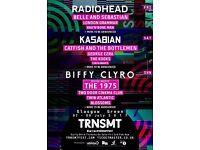 2 x TRNSMT Festival Weekend Tickets 8th & 9th July 2017 lower than face value!