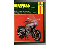 HAYNES Honda CXGL500 650 V-Twins Owners Workshop Manual