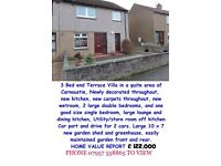 3 bed end semi Fantastic family home Carnoustie