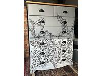 Leopard Print Chest of Drawers