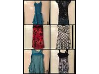 6x party dresses bundle turquoise red black white polka Jane Norman Size 12