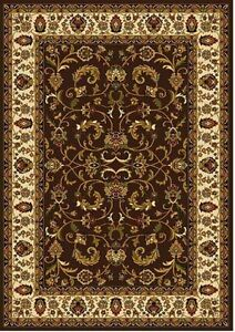 Traditional Persian Border Area Rug 5x8 Oriental Carpet - Actual 5' 2