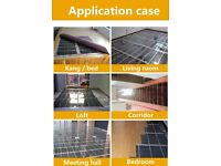 electric under floor heating film suitable for laminate or carpet
