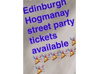 Edinburgh Street party tickets available £10 please be quick in contacting be prompt on arrival 8pm