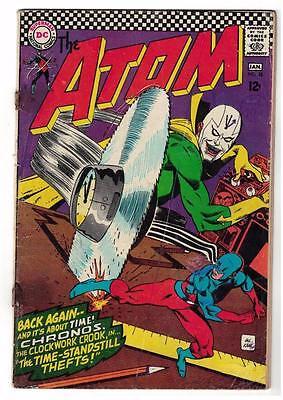 DC Comic ATOM Silver age  #28 VG superman 1966