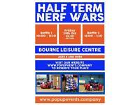 Oct Half term Nerf War