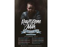4x Rag n Bone Man standing tickets, O2 Manchester Apollo, Tuesday 21st November 2017