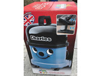 Charles CVC370 Numatic Henry Trade Professional Wet & Dry Hoover Vacuum Cleaner 230V