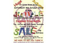 1st Kirton Autumn Jumble Sale