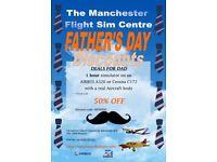 Fathers Day Flight Simulator Offer