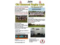 Rugby Players wanted at a SW London Rugby Club, all abilities for three men's teams in leagues.