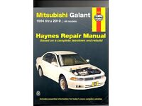 Haynes Mitsubishi Galant 1994 thru 2010 Al Models ''Repair Manual''