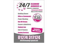 24/7 Cleaning Services