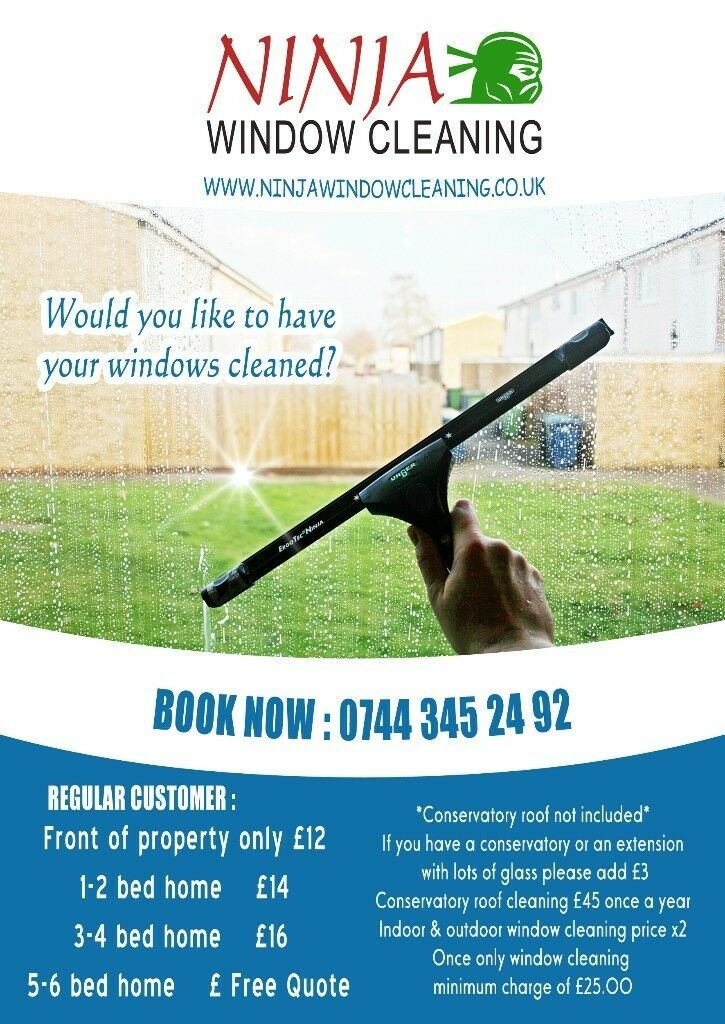 window cleaning advertising