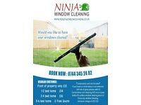 Ninja Window Cleaning Cambridge, Gutter cleaning, Conservatory roof Cleaning, Window cleaner