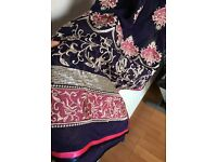 Brand new Asian suit, size xs-s, 3 piece Priced low for a quick sale Ideal for summer Zip at back