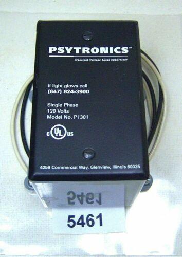 Psytronics P1301 Surge Suppressor Transient Voltage Single Phase 120V