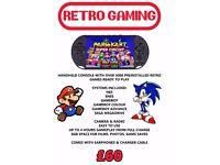 Handheld Retro Games Console 5000 games nes snes gameboy gbc gba megadrive sega