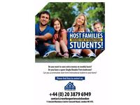 We are looking host families for International students !
