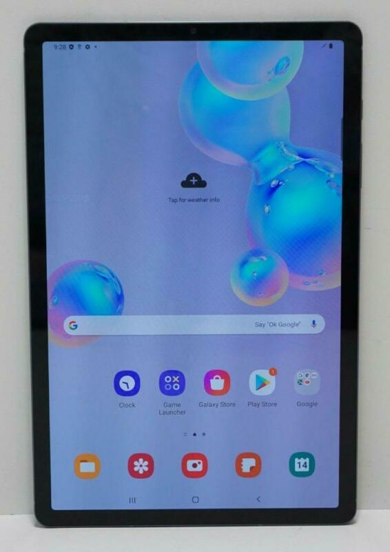 "Samsung Galaxy Tab S6 128GB Wi-Fi 10.5"" SM-T860 Gray"