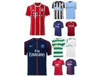 New 2017/18 football shirts