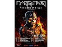 x3 Iron Maiden Tickets Liverpool Echo arena May 20th