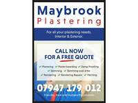 Need your Plastering done quickly ? Call or text us NOW