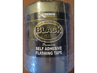 Black Jack Self Adhesive Lead Flashing Tape 150mm x 10m