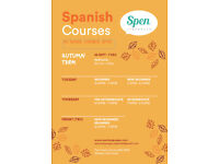 Learn Spanish - book your place now :)