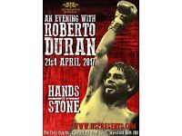An Evening with Roberto Duran Tickets