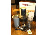 Sage by Heston Blumenthal the Nutri Juicer - Silver