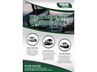 Great Rates on Van Hire - Whether you need to move house or hire a van for your job - give us a call