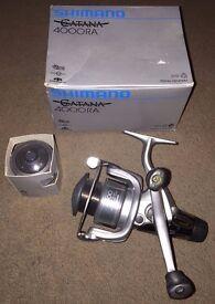 BRAND NEW REEL - Shimano Catana 4000RA Coarse Fishing Reel Boxed New w/ Spare Spool