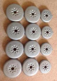 York Weight Plates 50lbs / 22.8kg ONLY £10