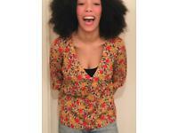 🥰 African Vintage Colourful Designed Size 6/8