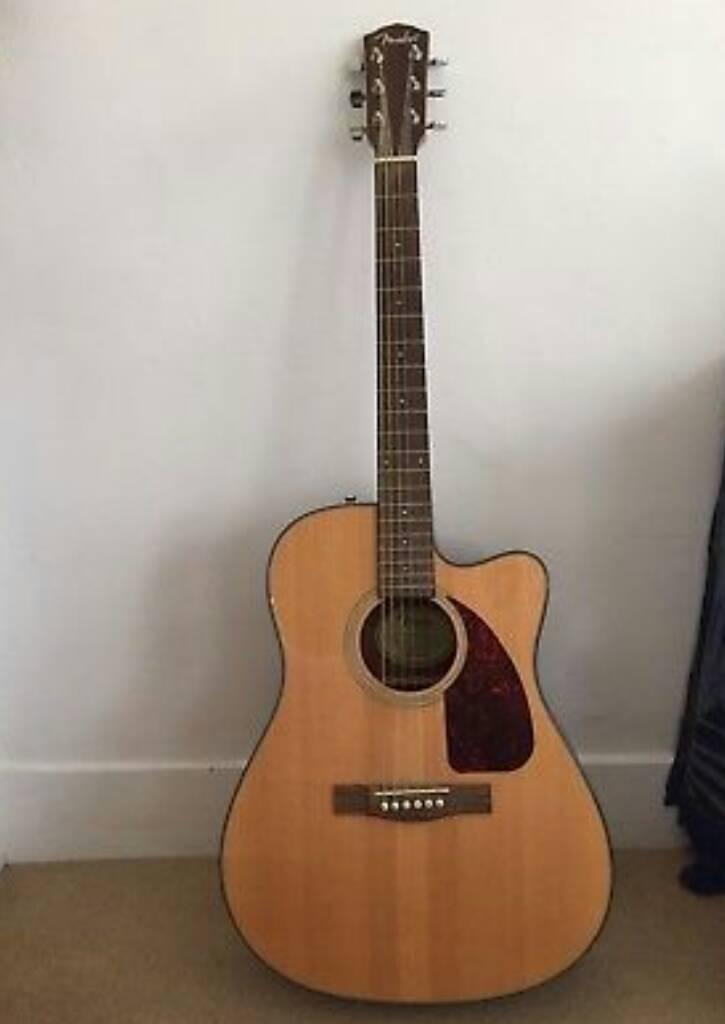 Fender CF140SCE Natural Electro Acoustic Guitar