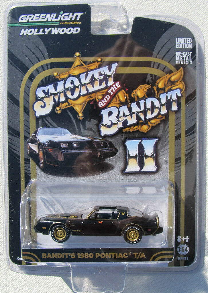 Greenlight Hollywood Series 2 Smokey And The Bandit Ii 1980 Pontiac Trans Am
