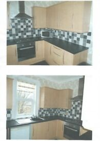 Newly refurbished first floor flat in popular area.Off-road parking. Unfurnished.