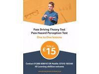 Driving Theory Test Practice - Face to Face help with up to date questions & hazard perception clips