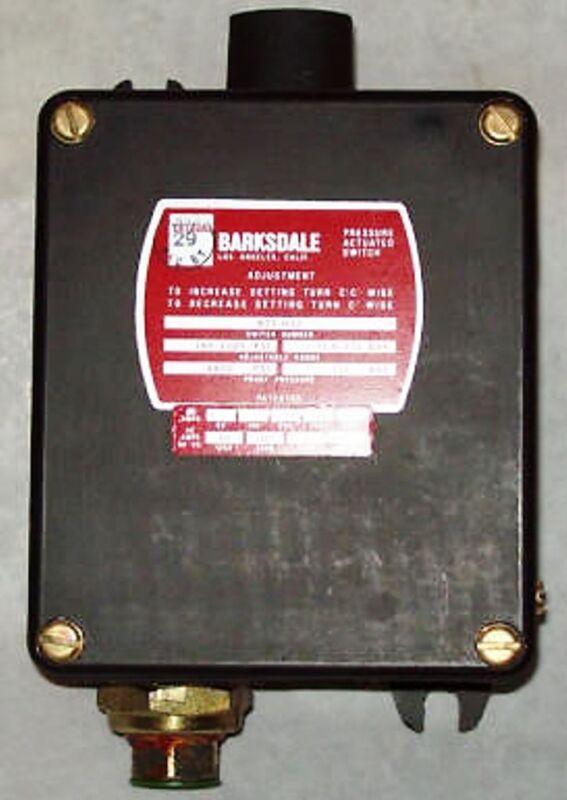 Barksdale B2t Bourdon Tube Pressure Switch B2t-h32
