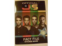 JLS Sticker Book